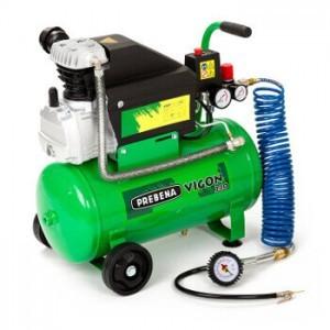 24 Liter Druckluft Kompressor Prebena Vigon 240.