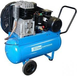 Blauer Kompressor 400V von Güde.