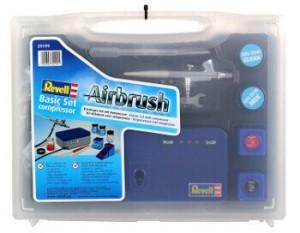 Revell Kompressor Airbrush im Koffer.
