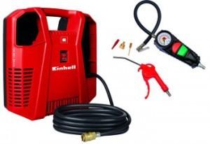 Roter Einhell TC-AC 190/8 Kit.