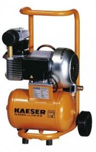 Baukompressor von Kaeser.
