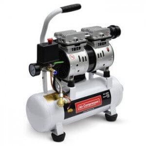 Der Implotex 480W Kompressor in der Gesamtansicht.