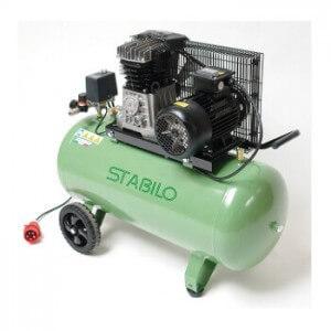 Stabilo Kompressor 500/10/100 mit grünem Kessel.