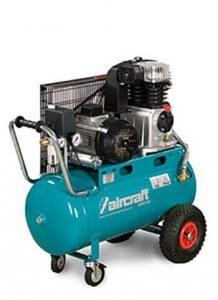 Airstar Kompressor samt 10 bar Luftdruck und 50 Liter Druckluftbehälter.