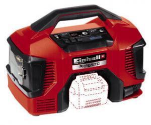 Mittels Handgriff und kompakter Bauform ist der Einhell Pressito Kompressor tragbar.