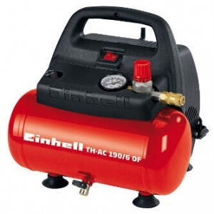 Einhell TC-AC 190/6/8 OF in der Total-Ansicht.