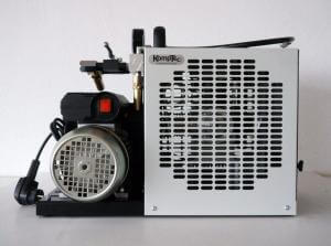 Komptec Kompressor mit der Modellnummer KT70 SE DUO.