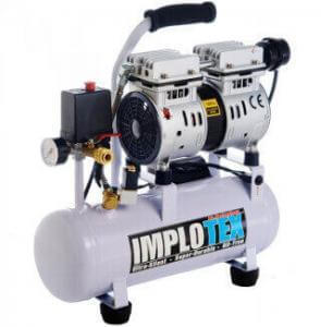 Kompressor leise mit 480W von Implotex.